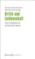 Kritik und Leidenschaft PDF