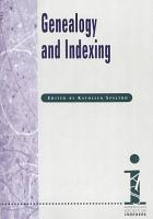 Genealogy and Indexing PDF