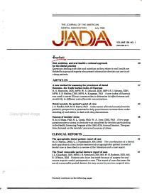 The Journal of the American Dental Association PDF