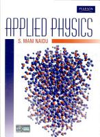 A Text Book of Applied Physics PDF
