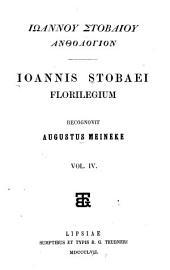 Florilegium: Volume 4