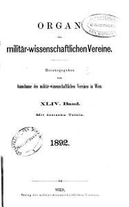 Organ der Milit  rwissenschaftlichen Vereine PDF