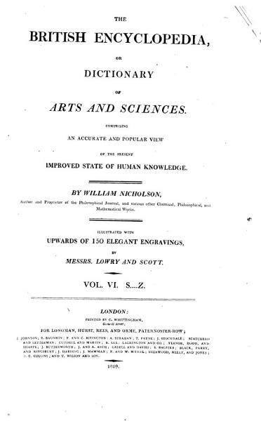 The British encyclopedia  or  Dictionary of arts and sciences
