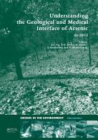 Understanding the Geological and Medical Interface of Arsenic   As 2012 PDF