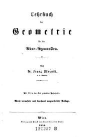 Lehrbuch der Geometrie für die Ober-Gymnasien