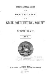 Report of the Michigan State Pomological Society: Volume 12