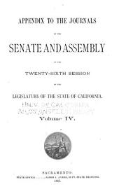 Journals of the Legislature of the State of California: Volume 4