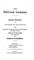 ber Delirium tremens PDF