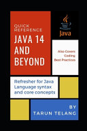 Java 14 Quick Reference