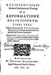 De reformatione religiosorum