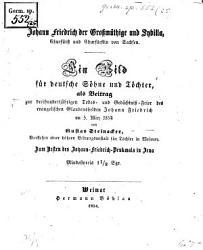Johann Friedrich der Gro  m  thige u  Sybilla PDF