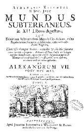 Athanasii Kircheri ... Mundus subterraneus in XII libros digestus ...: Volume 1
