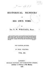 Historical Memoirs of His Own Time: Volume 3