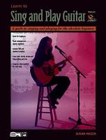 Learn to Sing and Play Guitar PDF