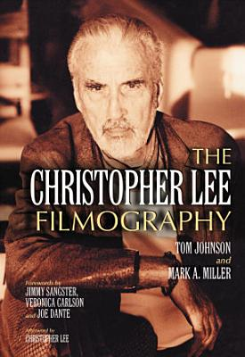The Christopher Lee Filmography PDF