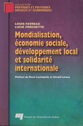 Mondialisation, Économie Sociale, Développement Local et Solidarité Internationale