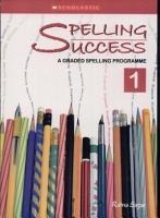 Spelling Success 1 PDF