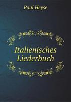 Italienisches Liederbuch PDF