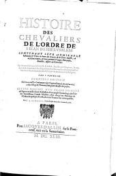 Histoire De Malte Avec Les Statuts & les Ordonnances de l'Ordre