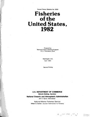 Fisheries of the United States PDF