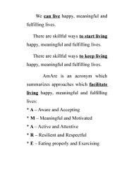 A Course In Happiness Meaning Motivation And Well Being Book PDF