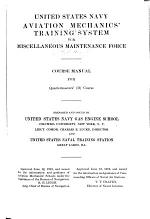 United States Navy Aviation Mechanics' Training System for Miscellaneous Maintenance Force