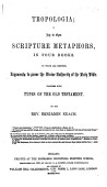 Gtropolog A A Key To Open Scripture Metaphors By B Keach And T Delaune 3 Vols Vol 1 2 Want The Title Leaves And Are Otherwise Imperf Vol 3 Is Entitled Gtroposhymalog A Sic By B K Revised By B Keach