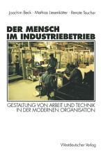 Der Mensch im Industriebetrieb PDF