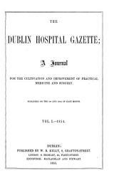 The Dublin Hospital Gazette PDF