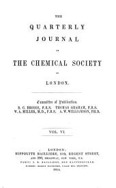 Journal - Chemical Society, London: Volume 6