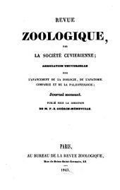 Revue zoologique: 1843