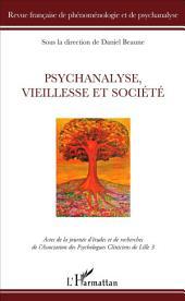 Psychanalyse, vieillesse et société