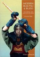 Modern Bujutsu and Budo PDF