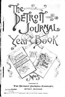 The Detroit Journal Year book PDF