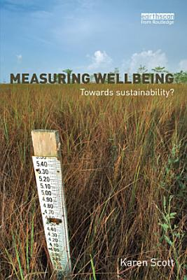 Measuring Wellbeing  Towards Sustainability