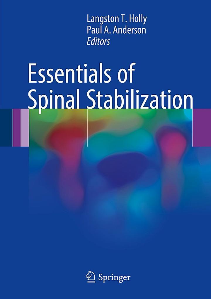Essentials of Spinal Stabilization
