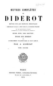 Oeuvres complètes de Diderot: Beaux-arts, pt. 1-2: Arts du dessin (salons)
