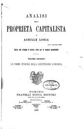 Analisi della proprietà capitalista: Volume 2