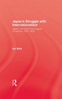 Japans Struggle With Internation PDF
