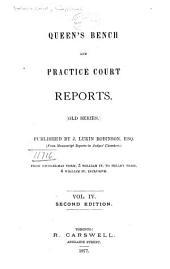 Queen's Bench Reports