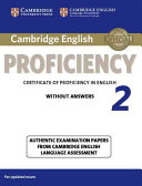 Cambridge English Proficiency 2 Student s Book without Answers PDF