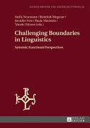 Challenging Boundaries in Linguistics PDF