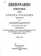 Dizionario portatile della lingua italiana: Volume 2
