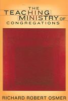 The Teaching Ministry of Congregations PDF