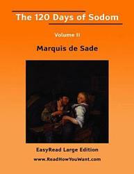 120 Days of Sodom Volume 2 EasyRead Larg PDF