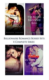 Billionaire Romance Boxed Sets: The Billionaire's Pregnant Girlfriend\Claimed by the Alpha Billionaire Boss\Touch of the Billionaire\Falling in Love with My Boss (4 Complete Series)