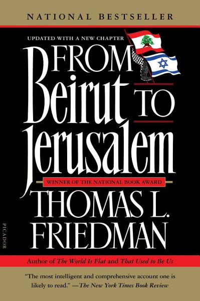 Download From Beirut to Jerusalem Book