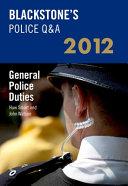 General Police Duties 2012 PDF