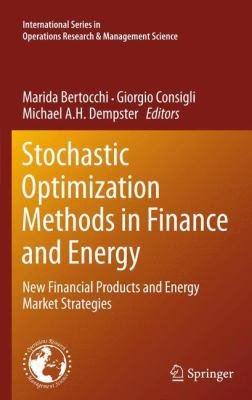 Stochastic Optimization In Energy Systems