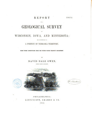 Report of a Geological Surveyof Wisconsin  Iowas  and Minnesota